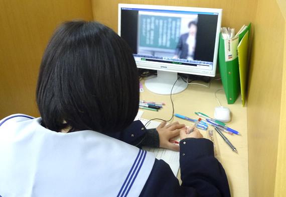 映像授業用個別ブース 設置例