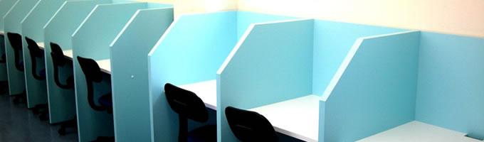 自習室用机・個別ブースのご提案